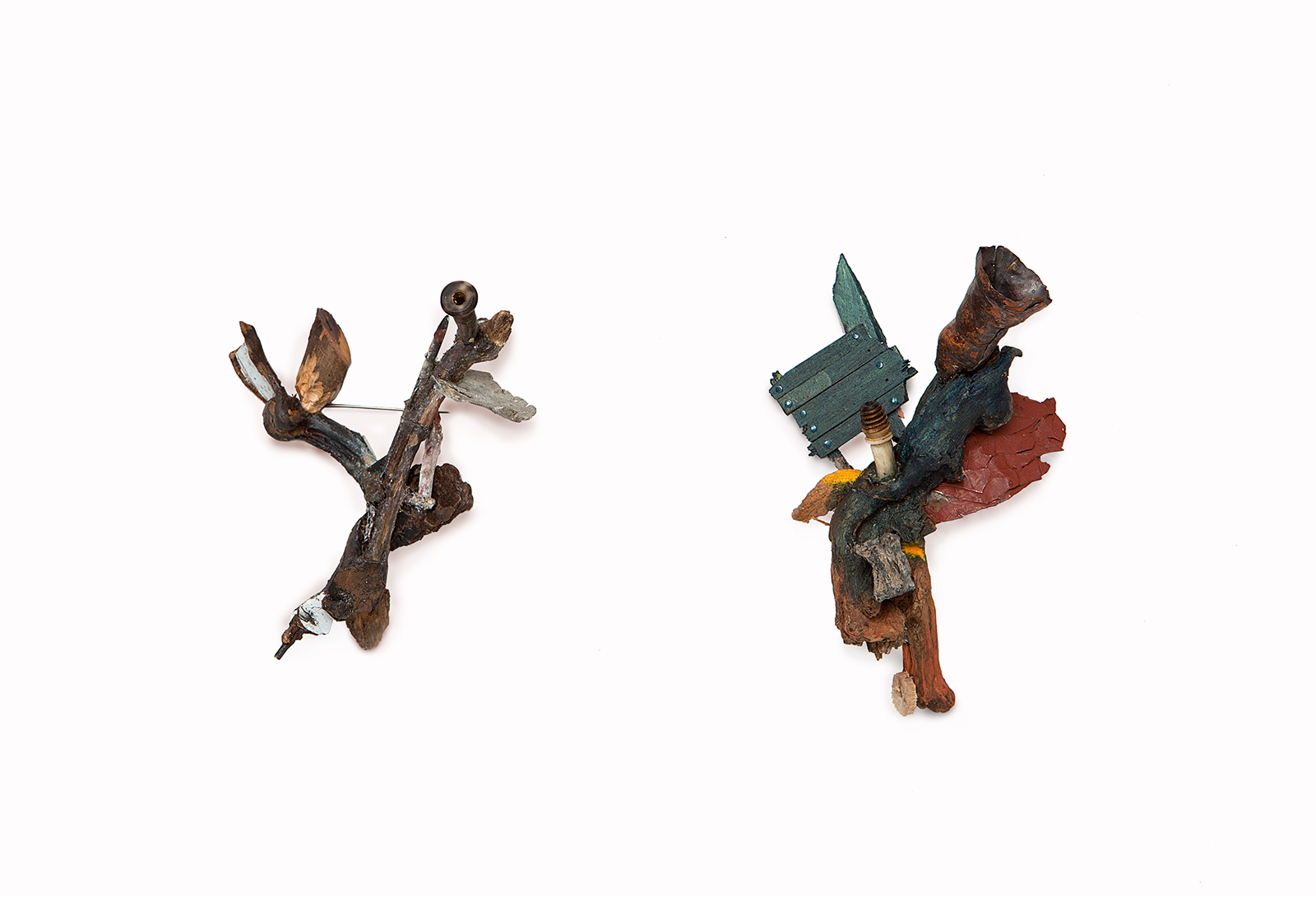 """Left: """"A pipe and an AT23""""    
